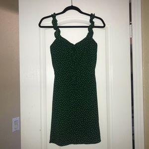 Boutique Green Dress